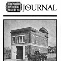Fort Smith Historical Society Journal, volume 1, issue 1